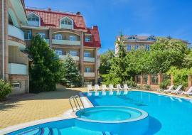 Галеон -    Отдых в Крыму  гостиница в Коктебеле  с бассейном